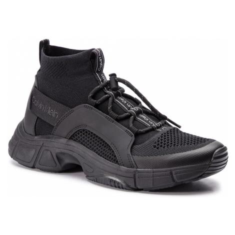 Sneakersy CALVIN KLEIN - Delton Knit F2053 Black