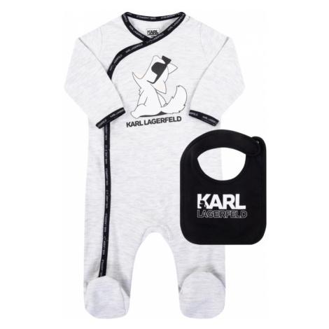 Komplet śpiochy i śliniak Karl Lagerfeld