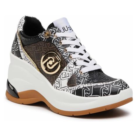 Sneakersy LIU JO - Karlie Revolution 30 BA1019 EX057 White/Black S1005