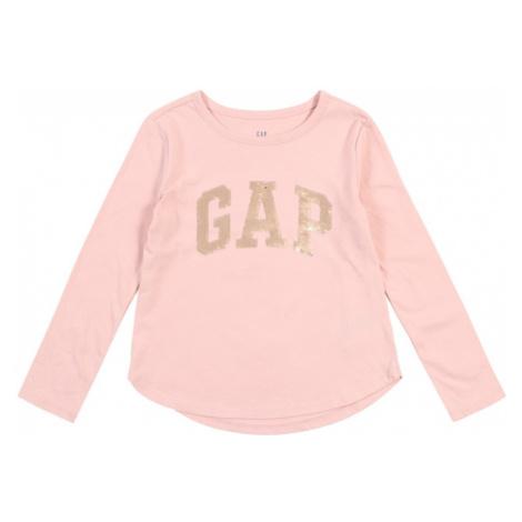 GAP Koszulka 'V-GAP FLP LS T' różowy
