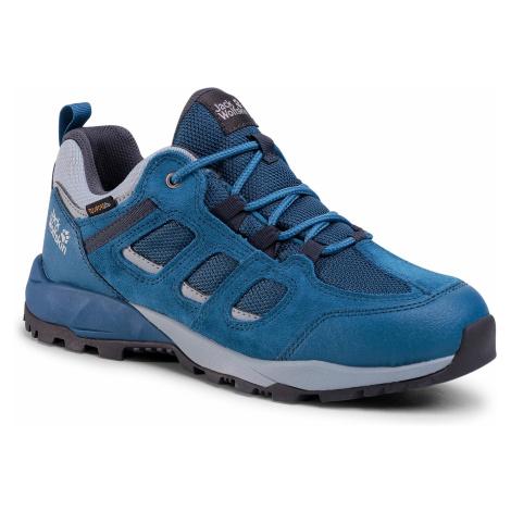 Trekkingi JACK WOLFSKIN - Vojo Hike Xt Texapore Low M 4038981 Blue/Ebony