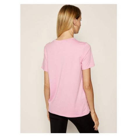 DKNY Sport T-Shirt DP9T6749 Różowy Regular Fit