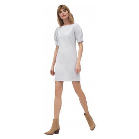 Sukienka z bufiastymi rękawami Nife
