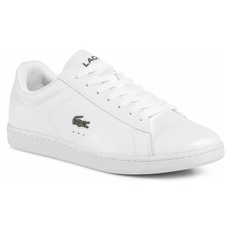 Sneakersy LACOSTE - Carnaby Evo 0120 4 Sma 7-40SMA007021G Wht/Wht