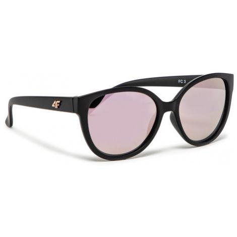 4F Okulary przeciwsłoneczne H4L21-OKU064 Czarny