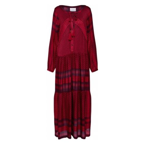 Cecilie Copenhagen Sukienka 'Rebecca Dress' czerwony / czarny