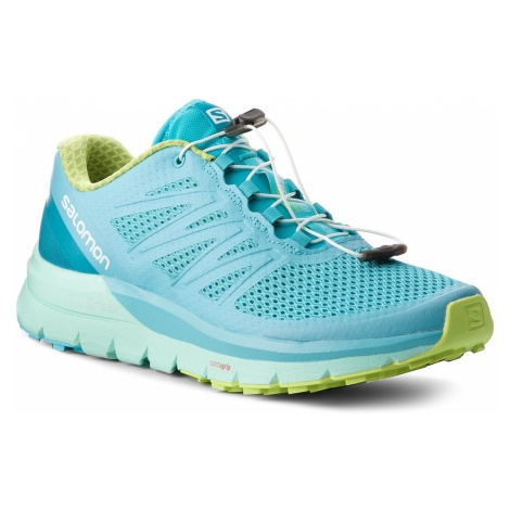 Buty SALOMON - Sense Pro Max W 400701 25 W0 Blue Curacao/Beach Glass/Acid Lime