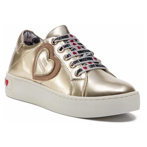 Sneakersy LOVE MOSCHINO - JA15133G17IC0900 Platin