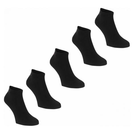 Slazenger Trainer Socks 5 Pack Ladies