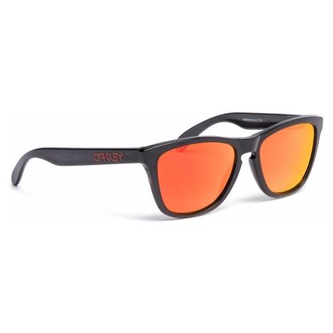 Okulary przeciwsłoneczne OAKLEY - Frogskins OO9013-C955 Black Ink/Prizm Ruby