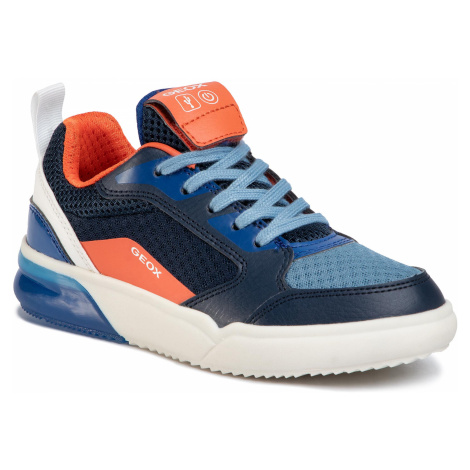 Sneakersy GEOX - J Grayjay B. F J029YF 014BU C0659 S Navy/Orange