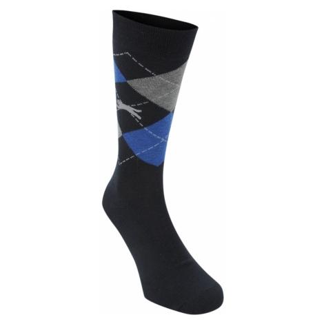 Slazenger Argyle Golf Socks 3 Pack Mens