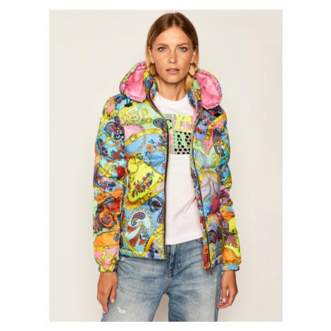 Versace Jeans Couture Kurtka puchowa E5HZA961 Kolorowy Regular Fit