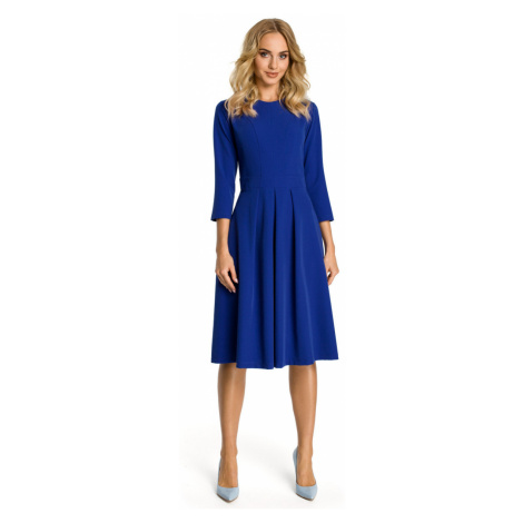 Made Of Emotion Woman's Dress M335 Royal