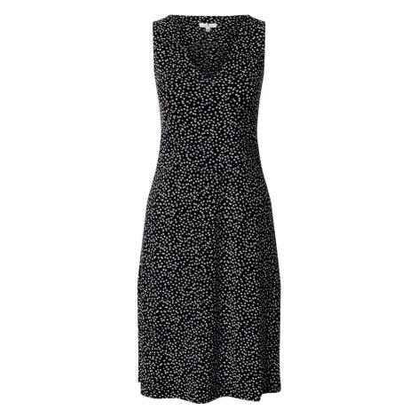 TOM TAILOR Sukienka biały / czarny