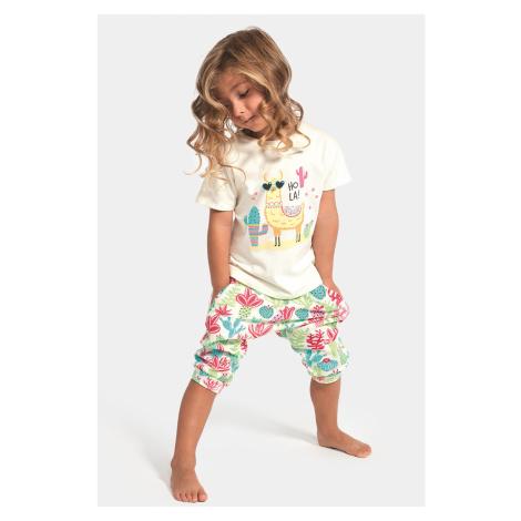 Dziewczęca piżama Hola Lama Cornette
