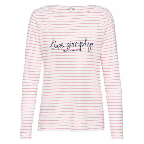 TOM TAILOR Koszulka różowy pudrowy / beżowy