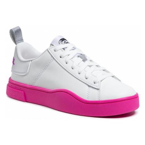 Diesel Sneakersy S-Cleaver Low Lace W Y02042 P3815 H8440 Biały