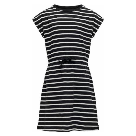 KIDS ONLY Sukienka 'May' biały / czarny