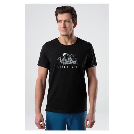 Czarny T-shirt LOAP Ballu