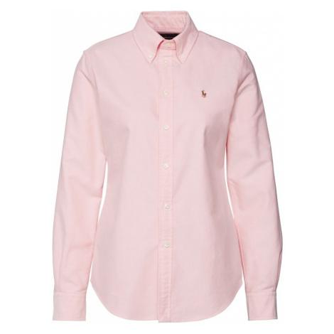 POLO RALPH LAUREN Bluzka różowy pudrowy