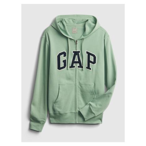 GAP zielony męska bluza Logo xls ft arch fz
