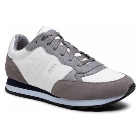 Sneakersy BOSS - Parkour 50445688 10232529 01 Open Grey 060 Hugo Boss