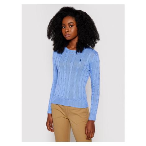 Polo Ralph Lauren Sweter Lsl 211580009091 Niebieski Regular Fit