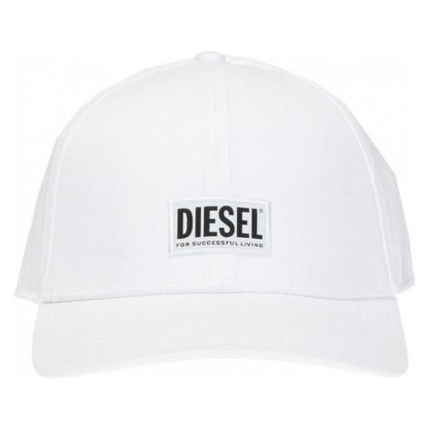 Czapka z daszkiem z logo Diesel