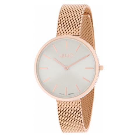 Liu Jo Glamour Globe Zegarek Beżowy