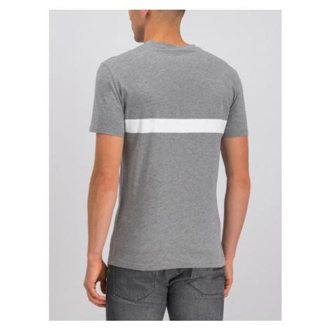 Boss T-Shirt 50407600 Szary Slim Fit Hugo Boss