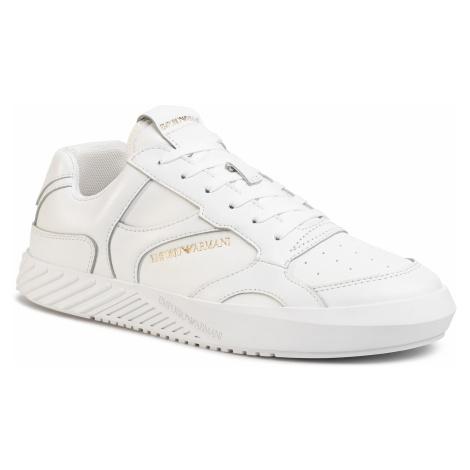 Sneakersy EMPORIO ARMANI - X4X283 XM191 K222 White/White/White/Wh