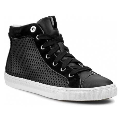 Sneakersy GEOX - D New Club B D5258B 04321 C9999 Czarny
