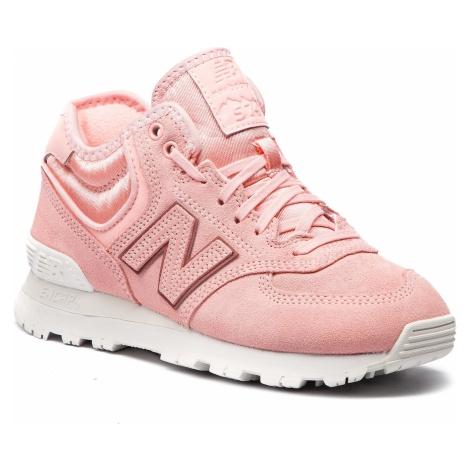 Sneakersy NEW BALANCE - WH574BA Różowy