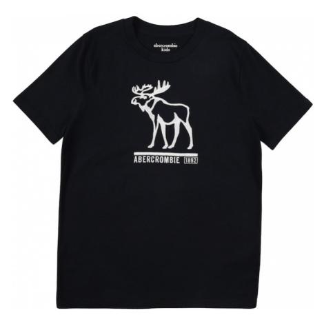 Abercrombie & Fitch Koszulka granatowy / biały