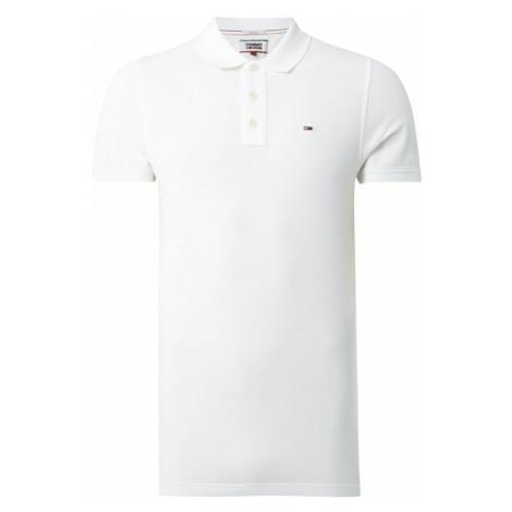 Koszulka polo o kroju slim fit z wyhaftowanym logo Tommy Hilfiger
