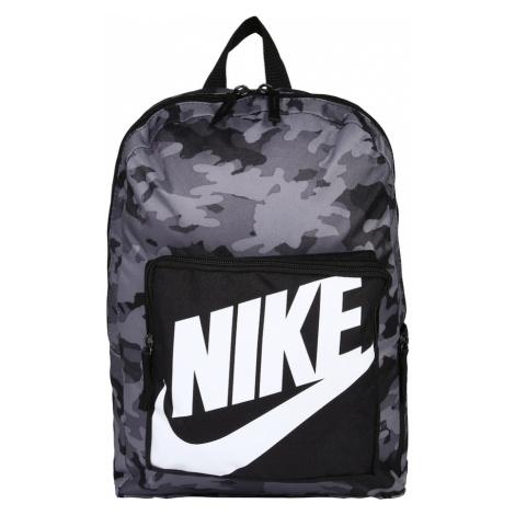 Nike Sportswear Plecak biały / czarny / szary