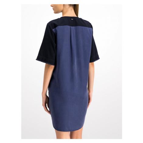 G-Star Raw Sukienka codzienna D14734-5977-4213 Granatowy Regular Fit