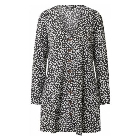 Missguided Sukienka koszulowa 'Petite' biały / czarny