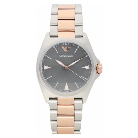 Zegarek EMPORIO ARMANI - Nicola AR11256 Silver