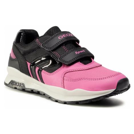 Sneakersy GEOX - J Pavel G. A J048CA 054FU C0922 S Black/Fuchsia