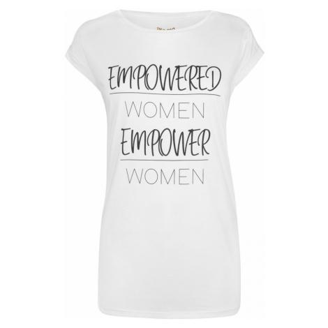 USA Pro Empowered Women Slogan T Shirt Ladies