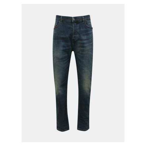 Niebieskie męskie jeansy slim fit Diesel