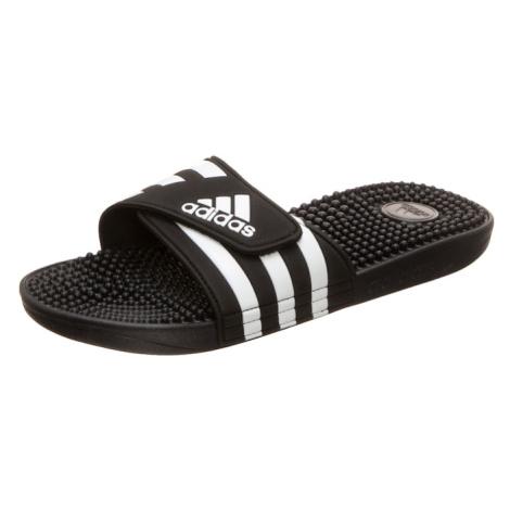 ADIDAS PERFORMANCE Buty sportowe 'Adissage' biały / czarny