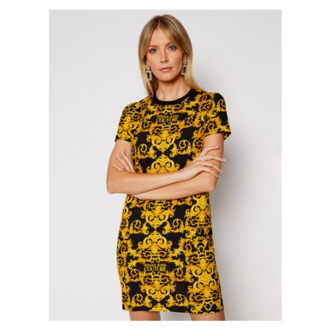 Versace Jeans Couture Sukienka codzienna D2HWA401 Czarny Slim Fit