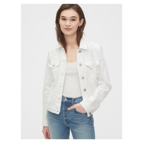 GAP biała kurtka dżinsowa icon denim jacket
