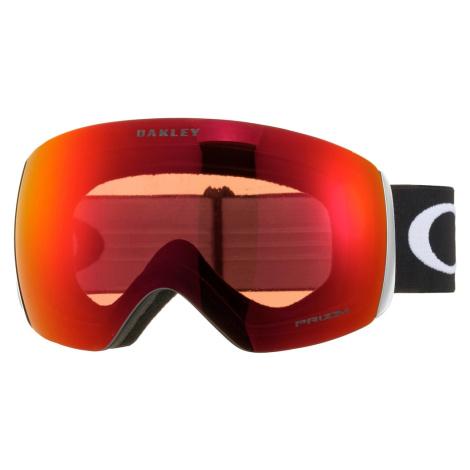 OAKLEY Okulary sportowe 'Flight Deck' ciemnopomarańczowy / czarny