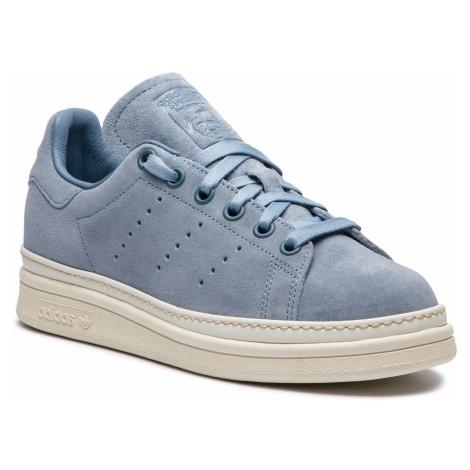 Buty adidas - Stan Smith New Bold W B37299 Rawgre/Rawgre/Owhite