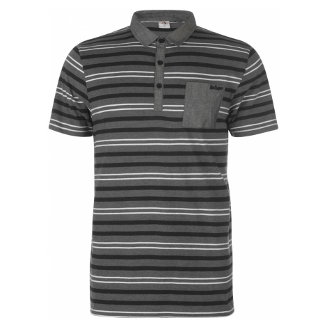 Lee Cooper Stripe Polo Shirt Mens