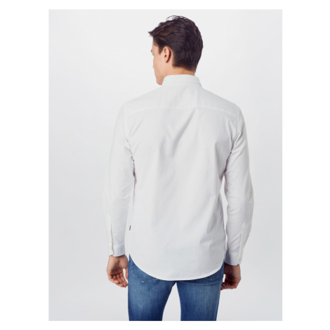 !Solid Koszula 'Juan Oxford' biały
